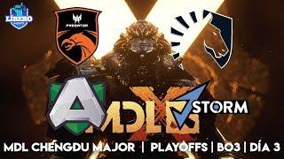 Dota 2 Live En vivo | MDL Chengdu Major | Team Liquid vs J.Storm | Playoffs | Día 3