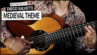 Diego Salvetti plays Medieval Theme | 8 String Classical Guitar | Siccas Media