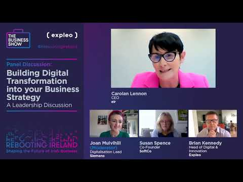 Rebooting Ireland - Building Digital Transformation into your Business Strategy