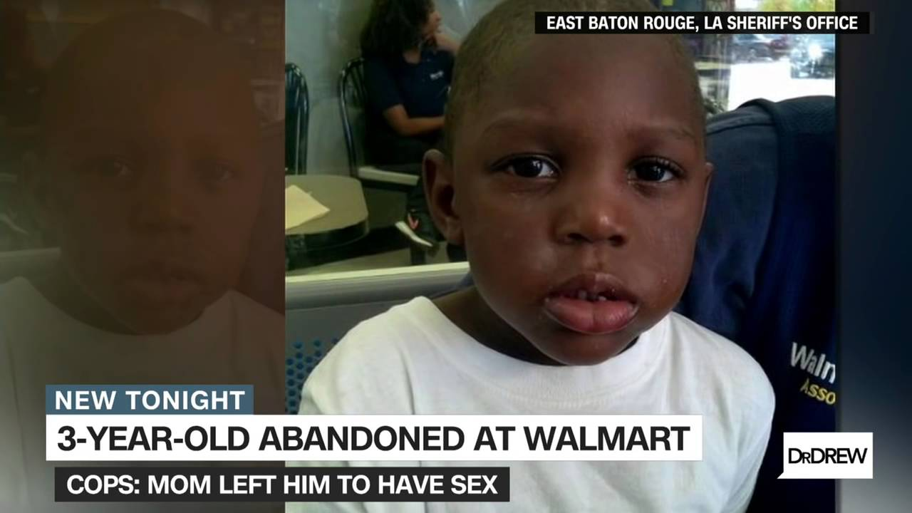 Mom Leaves Three Year Old Son At Walmart To Go Have Sex