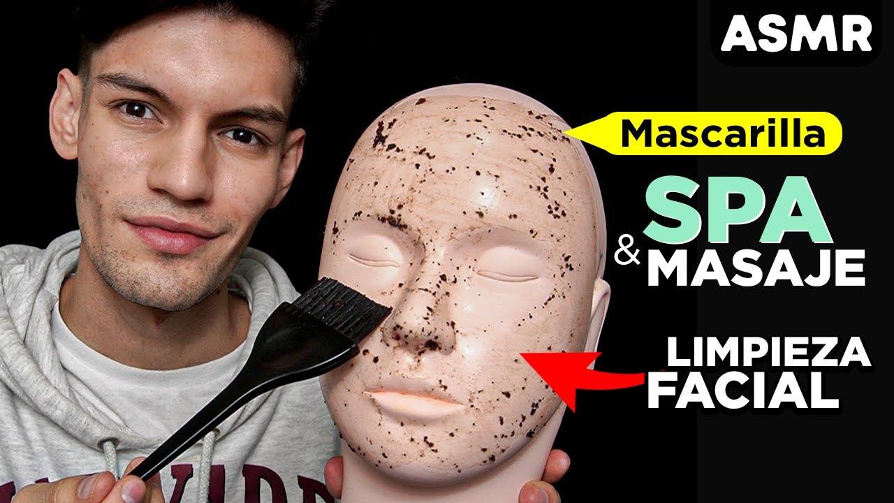 ASMR para DORMIR con Spa, Masaje y Limpieza Facial (atención personal) - ASMR Español - Mol ASMR