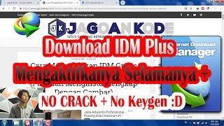 Gambar cover Cara Mengaktifkan IDM 6.30 Gratis Selamanya // Tanpa Serial Number, Crack, Keygen !!!