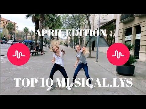TOP 10 MUSICAL.LYS APRIL - izaandelle