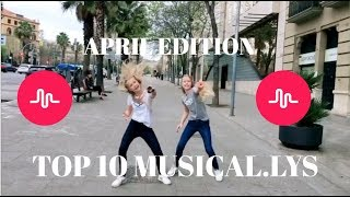 TOP 10 MUSICAL.LYS APRIL - izaandelle
