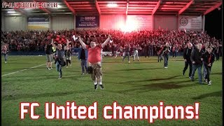 FC United of Manchester - Stourbridge FC (Apr 21, 2015)