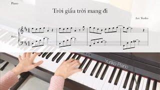 TRỜI GIẤU TRỜI MANG ĐI - Amee x Viruss | Piano Cover/Beat by Thu