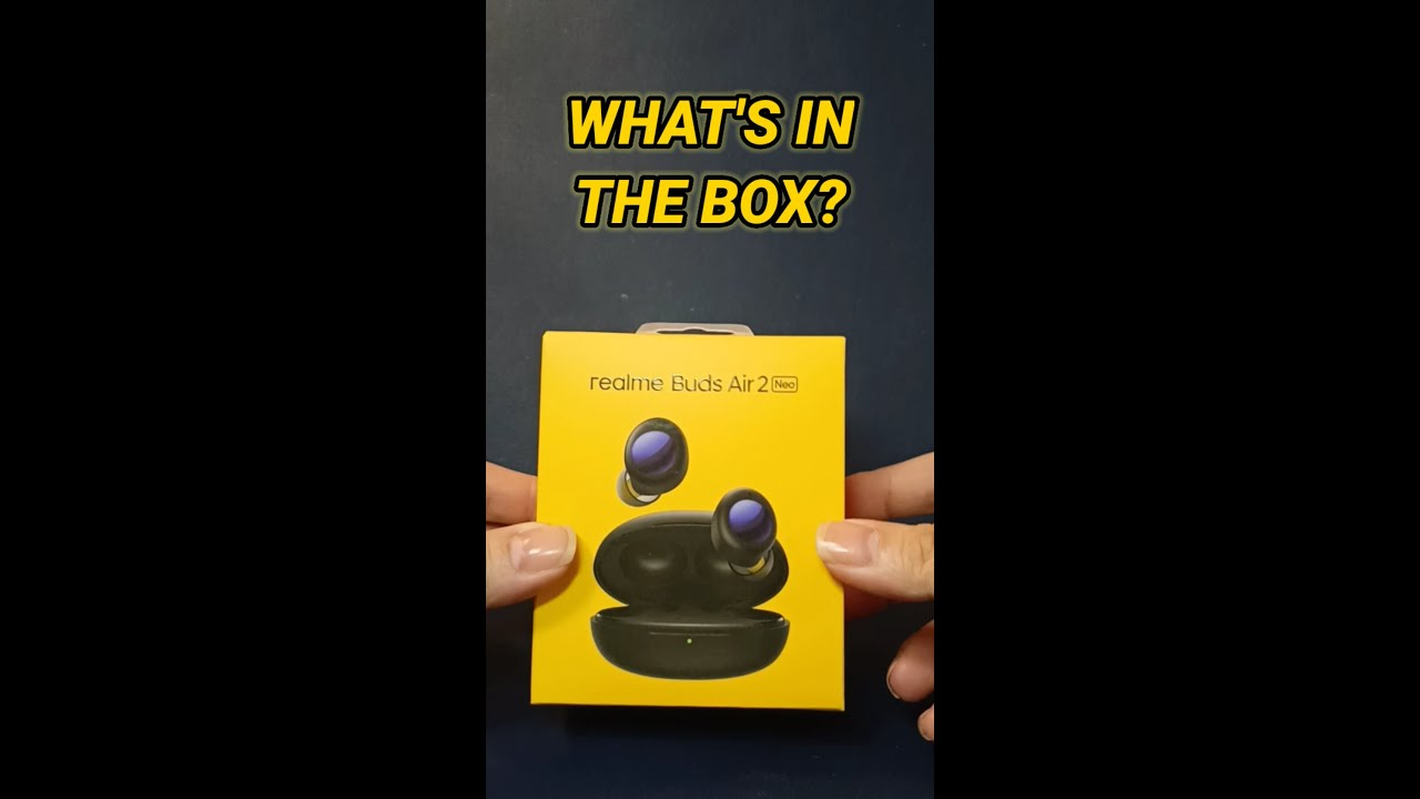 realme Buds Air 2 Neo unboxing