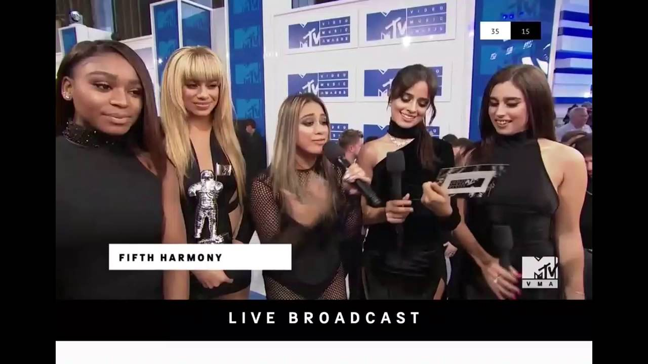 Fifth Harmony winning Song of The Summer at the MTV VMAs 2016