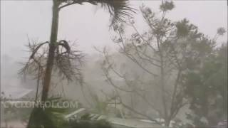 Cyclone ENAWO violentes rafales à Sambava (2017)