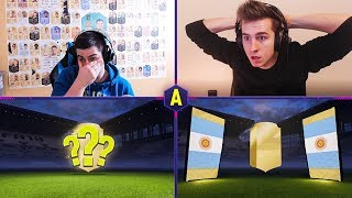 SZALONY PACK AND PLAY! ADRYAN VS JUNAJTED! | FIFA 18 ULTIMATE TEAM