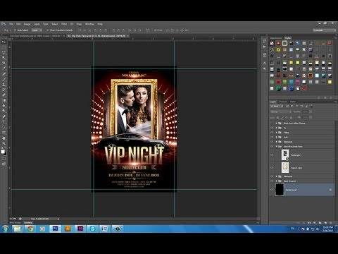 Vip Nignt Party Flyer Template by Grandelelo
