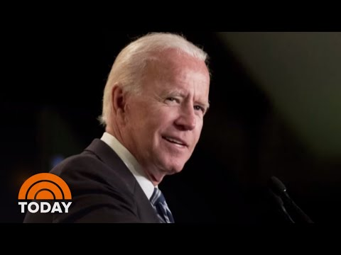 Joe Biden Slips Hint At 2020 Run For President | TODAY