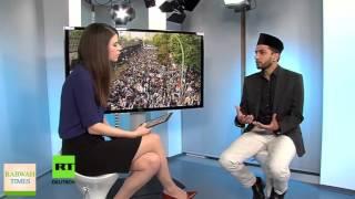 RussiaToday: Ahmadiyya Muslim Imam responds to PEGIDA & rising Islamophobia