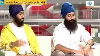 Basics of Sikhi team on the Sikh Channel Breakfast Show
