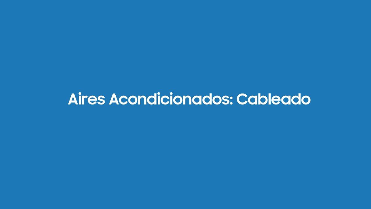 Aires Acondicionados: Cableado