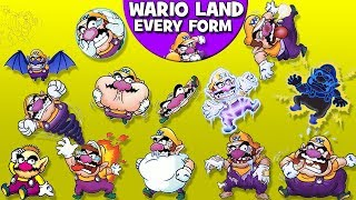 Wario Land - Every Form