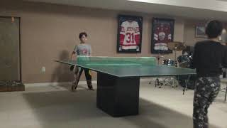ping pong with Heath and Carrigan part 3