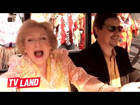 Betty White's 93rd Birthday Flash Mob | Hot in Cleveland | TV Land