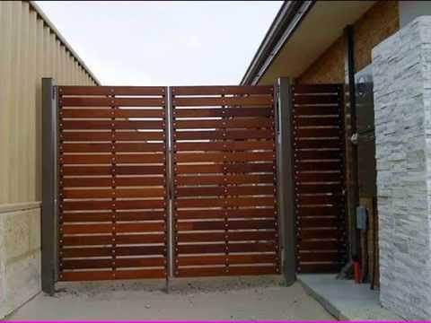 Gate Design Ideas - YouTube