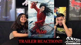 "Disney's ""Mulan"" Official Trailer REACTION!!"