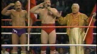 WWF Tag Match: British Bulldogs vs. Volkoff & Iron Sheik (1/3)