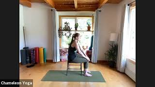Chair Yoga, June 17th 2021