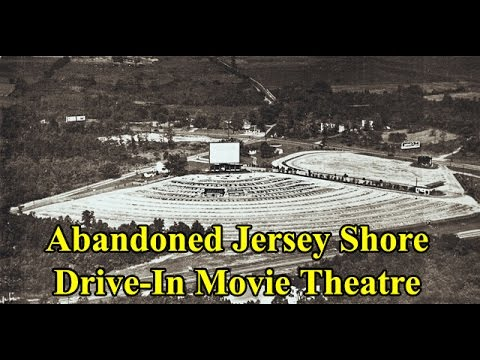 Abandoned Shore Drive-In Movie Theatre Farmingdale Monmouth County New Jersey
