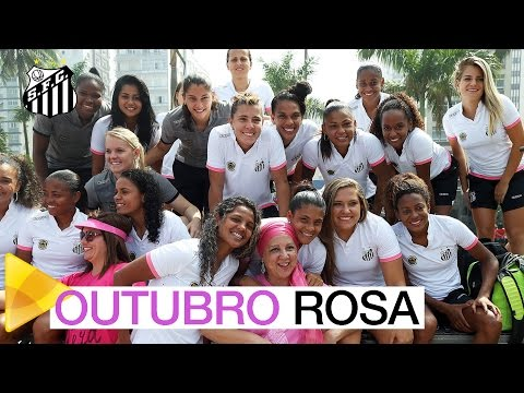Sereias da Vila participam da 7ª Caminhada do Outubro Rosa