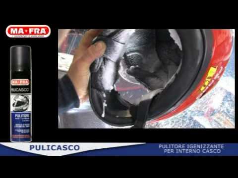 Come lavare il proprio casco da moto