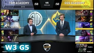 Video TSM Academy vs Golden Guardians Academy | Week 3 of S8 NA Academy League Spring 2018 | TSMA vs GGSA download MP3, 3GP, MP4, WEBM, AVI, FLV Juni 2018
