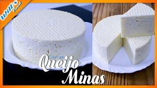 Como fazer Queijo Minas-  Receita de QUEIJO MINAS /   Receita #25