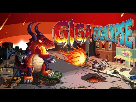 Gigapocalypse The First 15 Minutes (6 Monsters) Walkthrough Gameplay (No Commentary)  