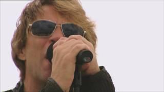 Bon Jovi's O2 rooftop performance- kick off to the O2 Residency 2010