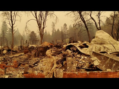 'The whole town is gone.' Drone video reveals the scale of fire destruction in Paradise