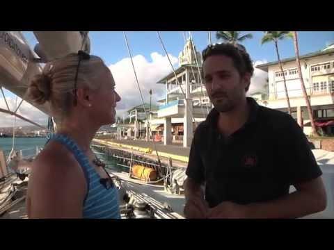 Collecting data aboard TARA Oceans (online episode)