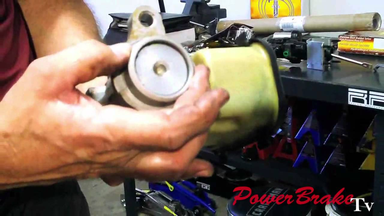 Vacuum Brake Booster Conversion To Hydro Boost On Performance Vehicle Tv You