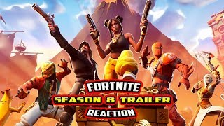 FORTNITE SEASON 8 CINEMATIC TRAILER + ALL *LEAKED* SKINS FOR SEASON 8 - FORTNITE SEASON 8 UPDATE