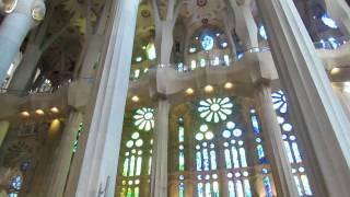 Собор Святого Семейства (Саграда Фамилия) в Барселоне(Собор Святого Семейства, или Саграда Фамилия, — самое восхитительное и величественное сооружение Барселон..., 2015-02-08T11:35:06.000Z)