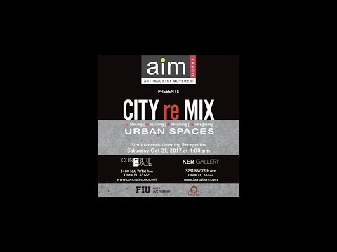 CITY re MIX by Concrete Space & Ker Gallery