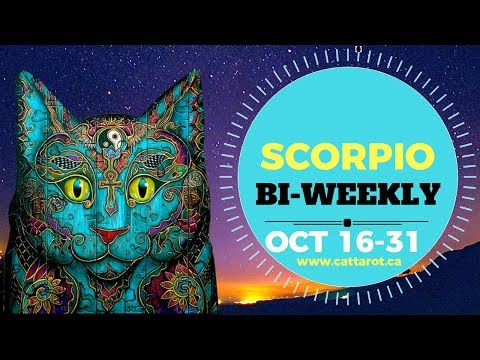 💞 SCORPIO BI-WEEKLY OCT 16-31 ***Yes, dating and happiness again!***