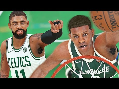 BOSTON CELTICS KYRIE IRVING! FIRST SLASHER DUNK! - NBA 2K18 MyCAREER #5