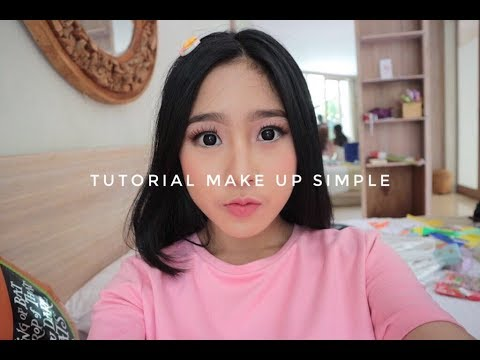 Download Youtube: TUTORIAL MAKE UP SIMPLE