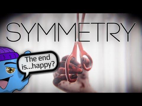 """SYMMETRY"" | Poor Lady is an OCD Wreck. Good Indie Horror Creepypasta Game (Gameplay/Playthrough) |"