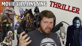 Movie Villains Sing Thriller