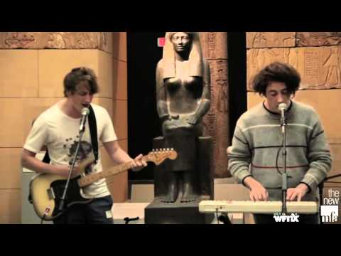 """MFA Acoustic Session: The Wombats """"Tokyo"""" presented by WFNX.com & Museum of Fine Arts"""