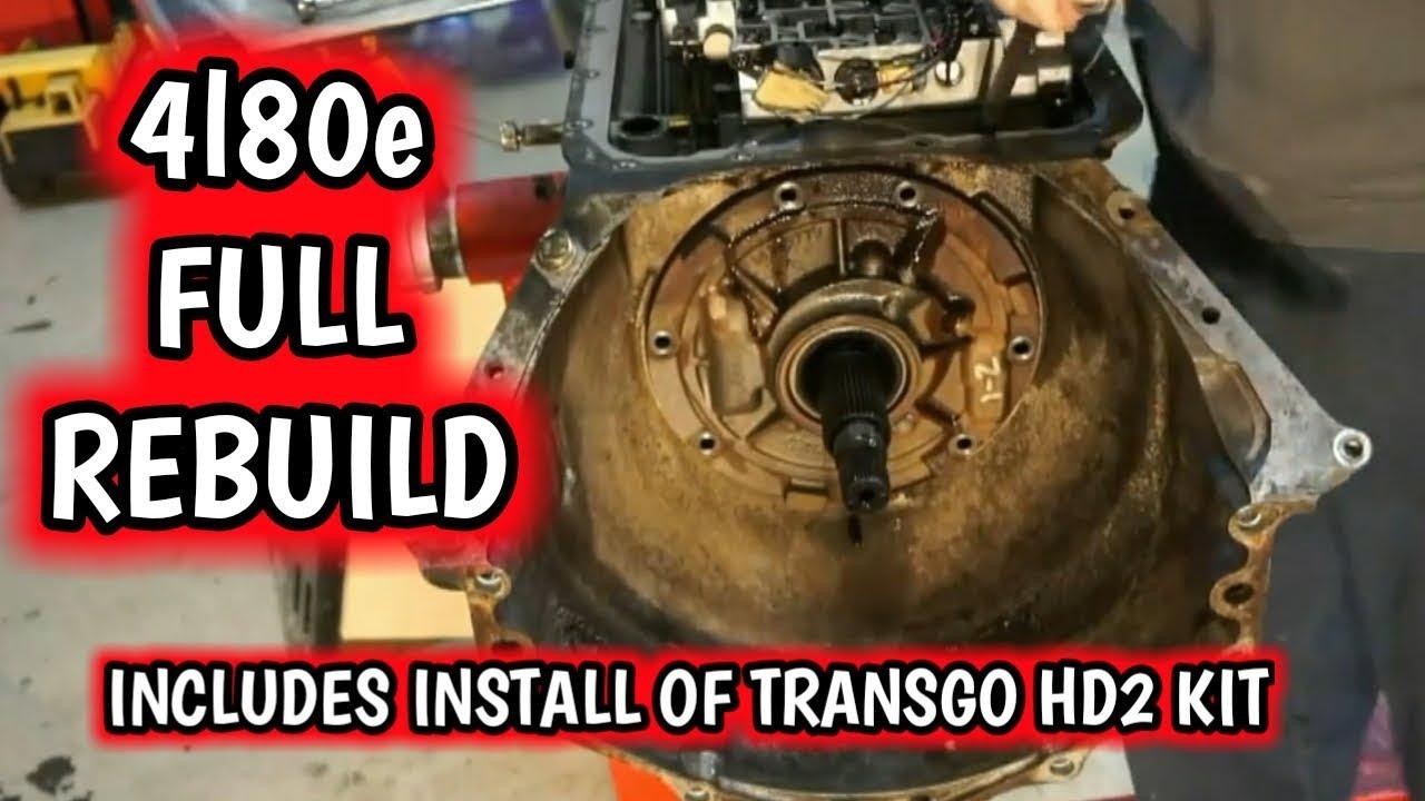 4l80e transmission rebuild with transgo hd2 kit full video a21bravo [ 1280 x 720 Pixel ]