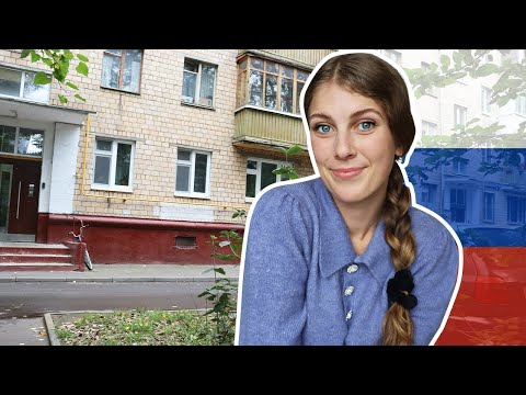 RUSSIAN APARTMENT tour in MOSCOW