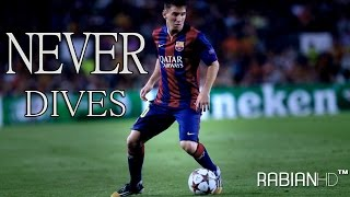 Lionel messi -  never dives |amazing skills|