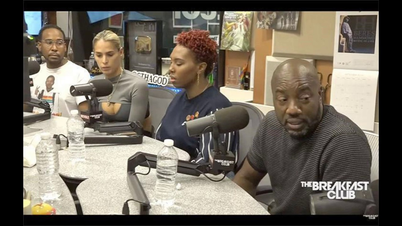 Malik Yoba Bullies Breakfast Club With LGBTQ Language