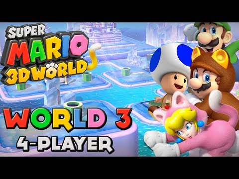 Super Mario 3D World - World 3 (4-Player)